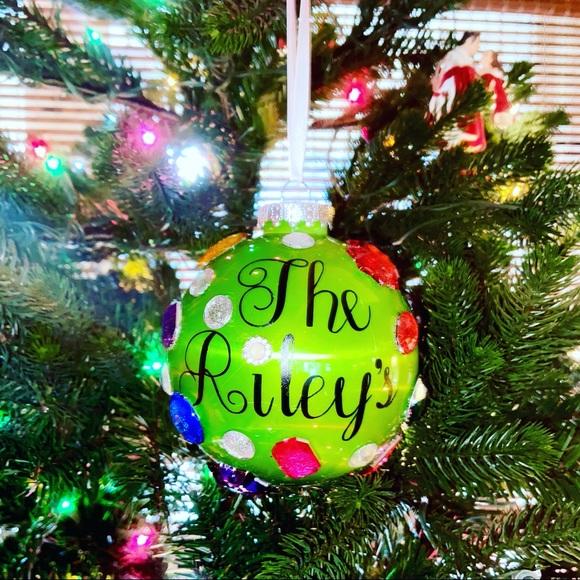 "Customizable ""so extra"" Big Gem Ornaments"